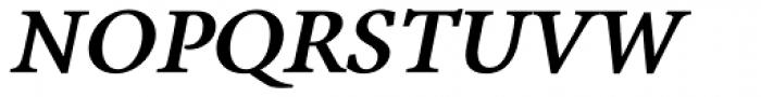 Antium Black Italic Font UPPERCASE