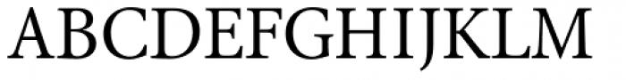 Antium SemiCondensed Regular Font UPPERCASE