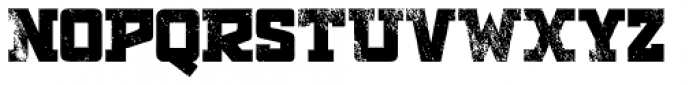 Antler Condensed North Letterpress Font LOWERCASE