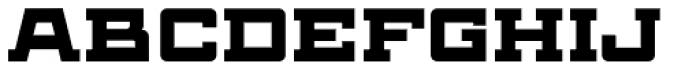 Antler North Regular Font UPPERCASE