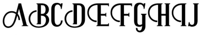 Antonio Regular Font UPPERCASE