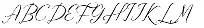Anttalla Regular Font UPPERCASE