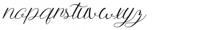 Anttalla Regular Font LOWERCASE