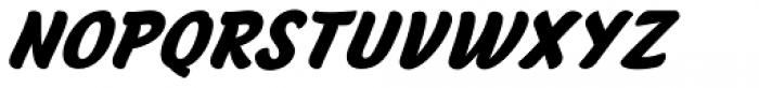 Anyelir Script Bold Italic Font UPPERCASE