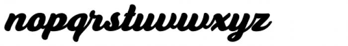 Anyelir Script Bold Italic Font LOWERCASE