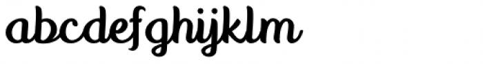 Anyelir Script Light Font LOWERCASE