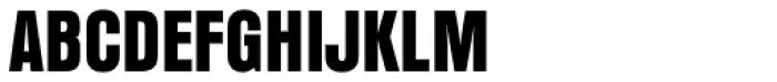 Anzeigen Grotesk Pro Regular Font UPPERCASE