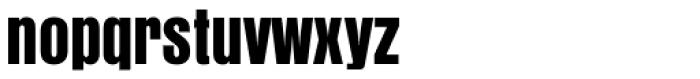 Anzeigen Grotesk Font LOWERCASE