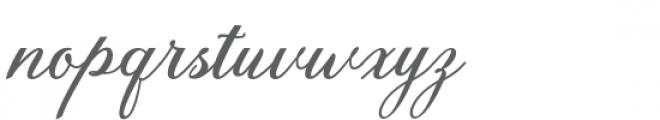 Anatomia Font LOWERCASE