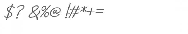 Aneisha Bold Italic Font OTHER CHARS