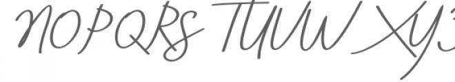 Aneisha Bold Italic Font UPPERCASE
