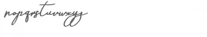 Aneisha Bold Italic Font LOWERCASE