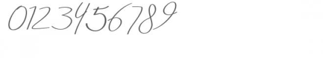 Aneisha Italic Font OTHER CHARS