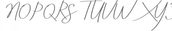 Aneisha Italic Font UPPERCASE
