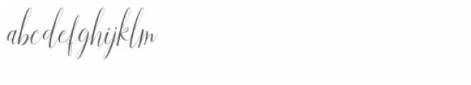 Aneisha Script Font LOWERCASE