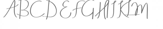Aneisha Font UPPERCASE
