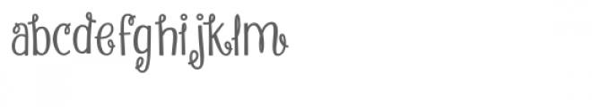 angel food cake font Font LOWERCASE