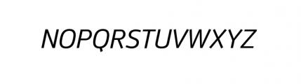 Anomoly Complete Regular Italic Font UPPERCASE