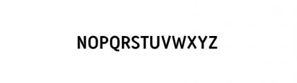 Antitled Complete Regular Caps Font LOWERCASE