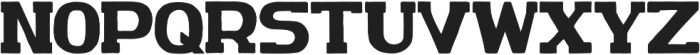 AO IronBolt Serif Bold AO IronBolt Serif Bold ttf (700) Font UPPERCASE