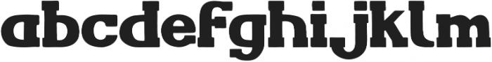 AO IronBolt Serif Bold AO IronBolt Serif Bold ttf (700) Font LOWERCASE