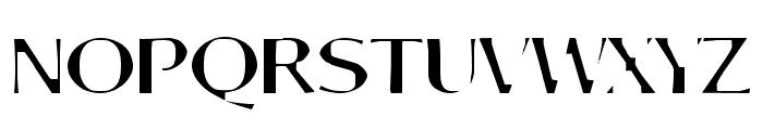 Aortal Hard Font UPPERCASE