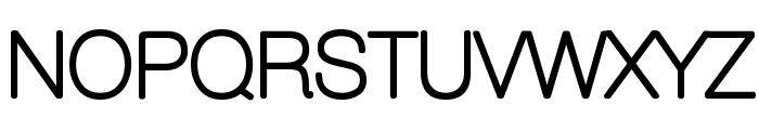 Aovel Sans Rounded Font UPPERCASE