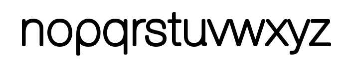 Aovel Sans Rounded Font LOWERCASE