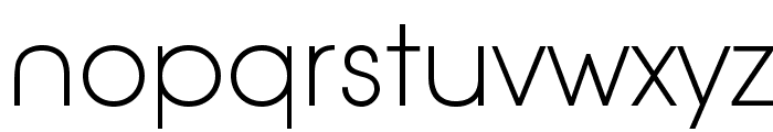 AovelNeo-ThinLiga Font LOWERCASE
