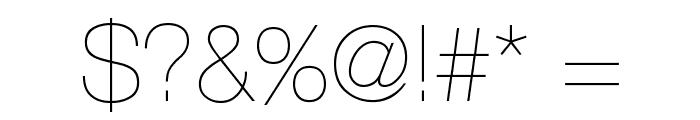 AovelSans-Light Font OTHER CHARS