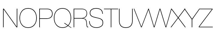 AovelSans-Light Font UPPERCASE
