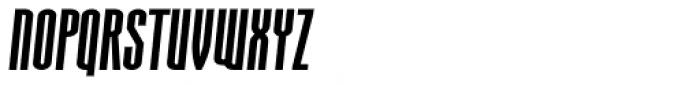 Aodaliya Extra Bold Italic Font UPPERCASE