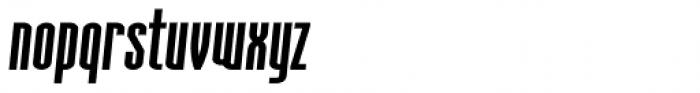 Aodaliya Extra Bold Italic Font LOWERCASE