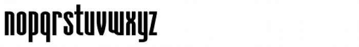 Aodaliya Extra Bold Font LOWERCASE