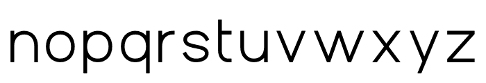 Aperta Extra Bold Font LOWERCASE