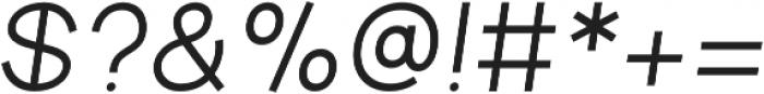 Aperta Extra Bold Italic otf (700) Font OTHER CHARS