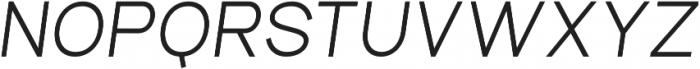 Aperta Extra Bold Italic otf (700) Font UPPERCASE