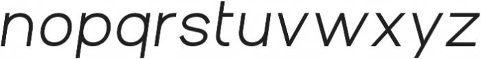 Aperta Extra Bold Italic otf (700) Font LOWERCASE
