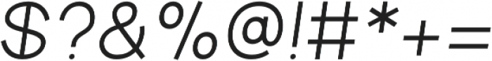 Aperta otf (700) Font OTHER CHARS