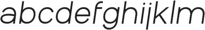 Aperta otf (700) Font LOWERCASE