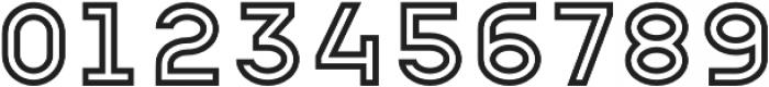 Apice Light Outline otf (300) Font OTHER CHARS