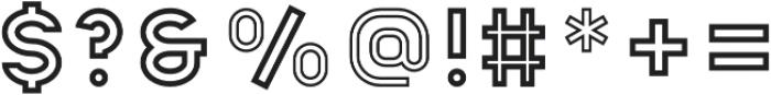Apice Regular Outline otf (400) Font OTHER CHARS