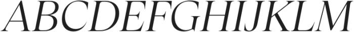 Apparel Regular It otf (400) Font UPPERCASE