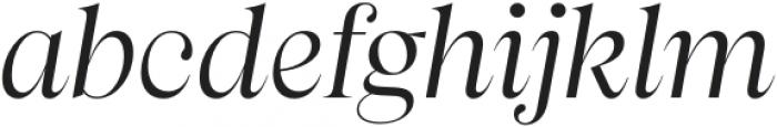 Apparel Regular It otf (400) Font LOWERCASE