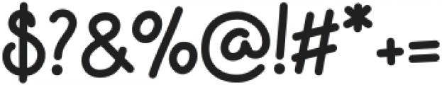 Apple Jam Bold otf (700) Font OTHER CHARS