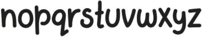 Apple Jam Bold otf (700) Font LOWERCASE