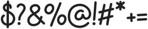 Apple Jam Regular otf (400) Font OTHER CHARS