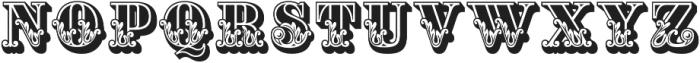Apple Pie Dark Regular otf (400) Font UPPERCASE