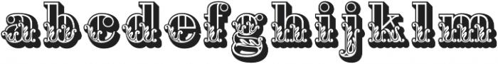 Apple Pie Dark Regular otf (400) Font LOWERCASE
