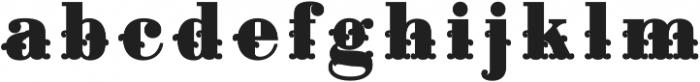 Apple Pie Fill Regular otf (400) Font LOWERCASE